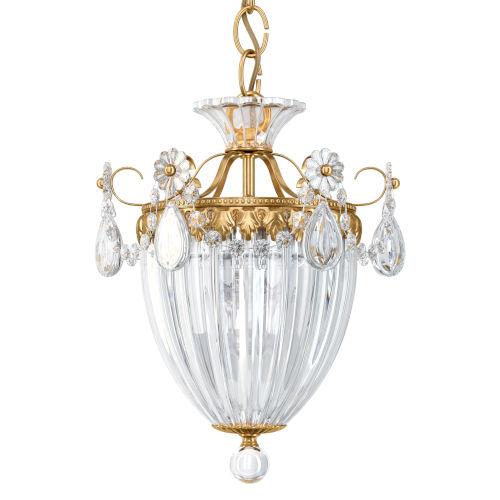 Bagatelle Heirloom Gold Three-Light Pendant