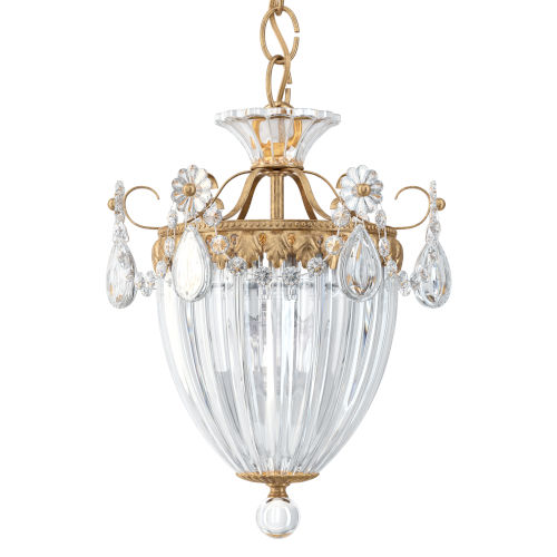 Bagatelle French Gold Three-Light Pendant