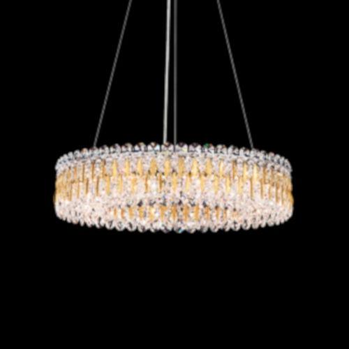 Sarella Heirloom Gold 24-Inch 12-Light Pendant