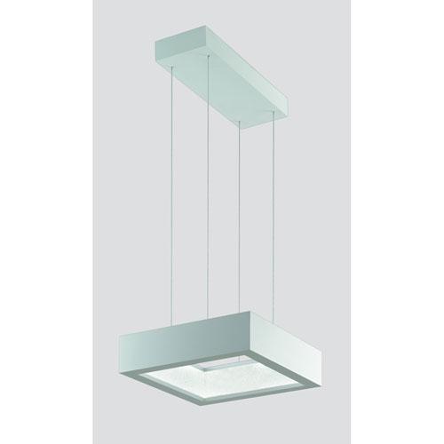 ReveaLED Pristine White 16-Inch 4000K LED Pendant with Clear Swarovski Crystals