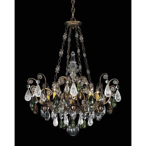 Schonbek Lambswool Quartz Crystal Chandelier Bellacor - Quartz chandelier crystals