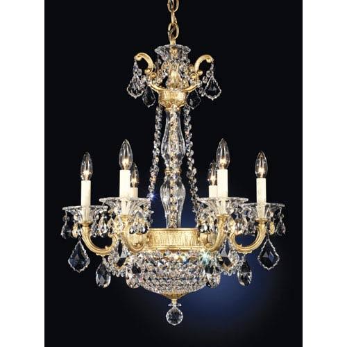 Schonbek la scala heirloom gold eight light clear spectra crystal schonbek la scala heirloom gold eight light clear spectra crystal chandelier aloadofball Images