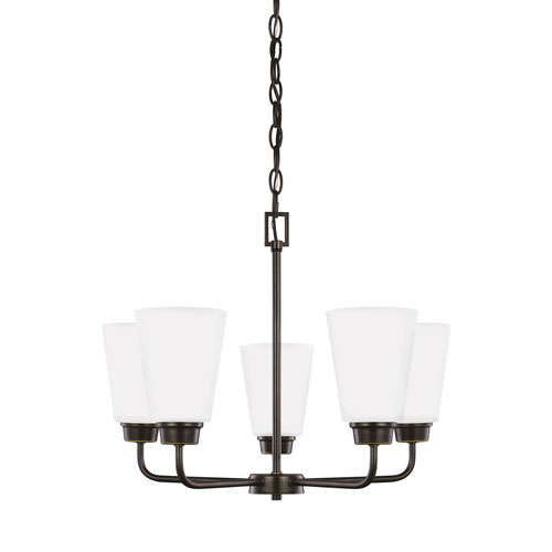 Kerrville Heirloom Bronze Energy Star Five-Light LED Chandelier