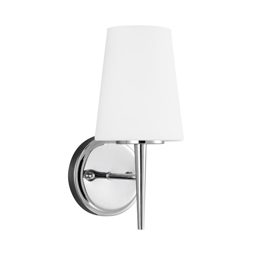 Driscoll Chrome Energy Star LED Bath Sconce