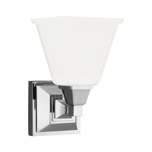 Sea Gull Lighting Denhelm Chrome Energy Star LED Bath Sconce