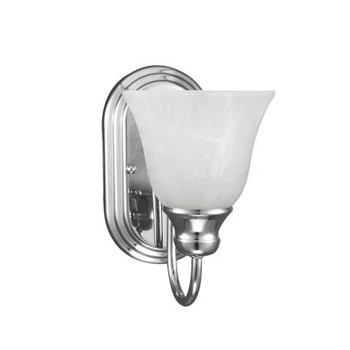 Windgate Chrome Energy Star LED Bath Sconce