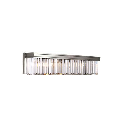 Carondelet Brushed Nickel Energy Star Four-Light LED Bath Vanity