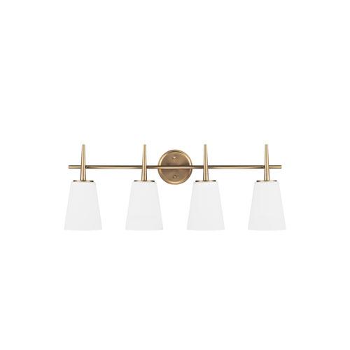 Driscoll Satin Bronze Energy Star Four-Light LED Bath Vanity
