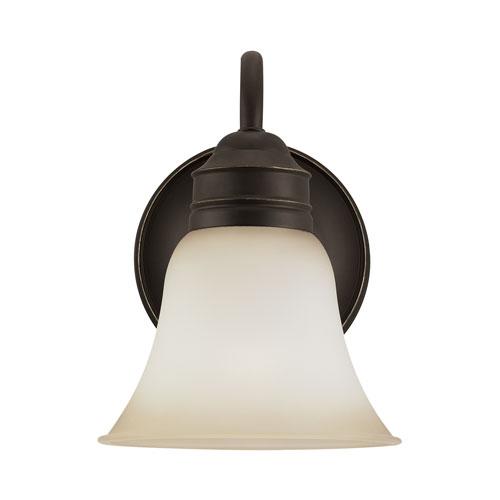 Sea Gull Lighting Gladstone Heirloom Bronze Energy Star LED Bath Sconce