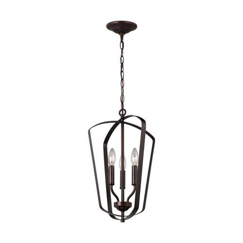 Romee Heirloom Bronze Three-Light Pendant Energy Star/Title 24
