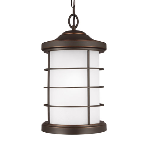 Sea Gull Lighting Sauganash Antique Bronze Energy Star LED Outdoor Pendant