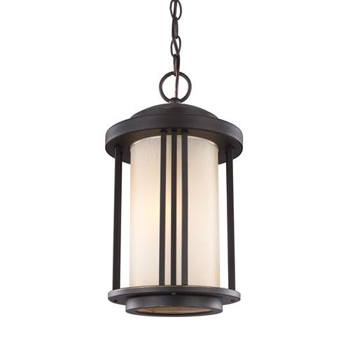 Sea Gull Lighting Crowell Antique Bronze Energy Star LED Outdoor Pendant