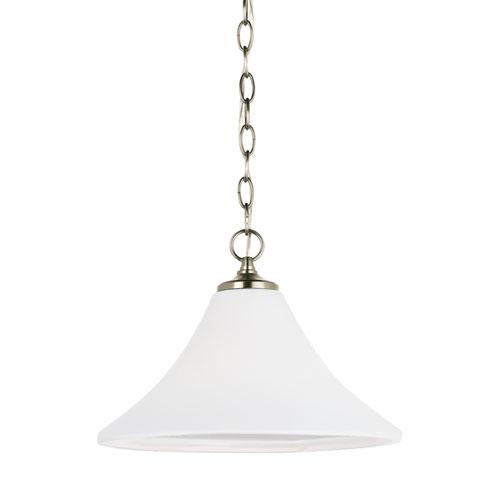 Sea Gull Lighting Montreal Antique Brushed Nickel Energy Star LED Pendant