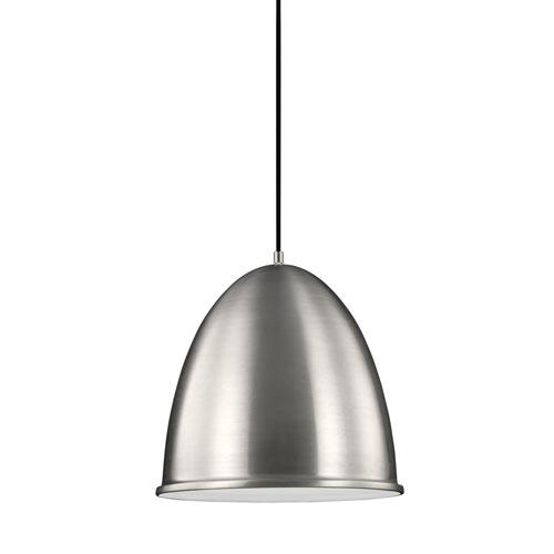 Hudson Street Satin Aluminum Energy Star LED Pendant