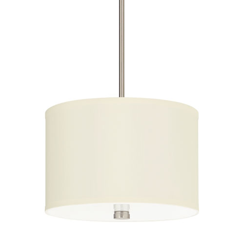 Sea Gull Lighting Dayna Shade Pendants Brushed Nickel Energy Star Two-Light LED Pendant