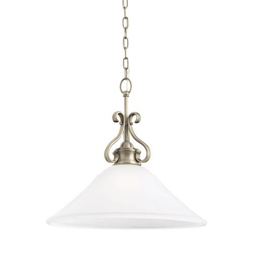 Sea Gull Lighting Parkview Antique Brushed Nickel Energy Star LED Pendant