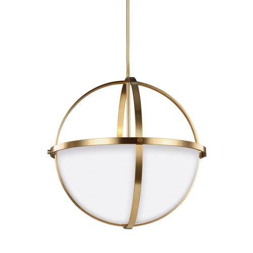 Sea Gull Lighting Alturas Satin Bronze Energy Star Three-Light LED Pendant