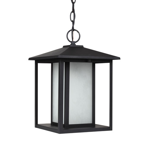 Sea Gull Lighting Hunnington Black Energy Star LED Outdoor Pendant