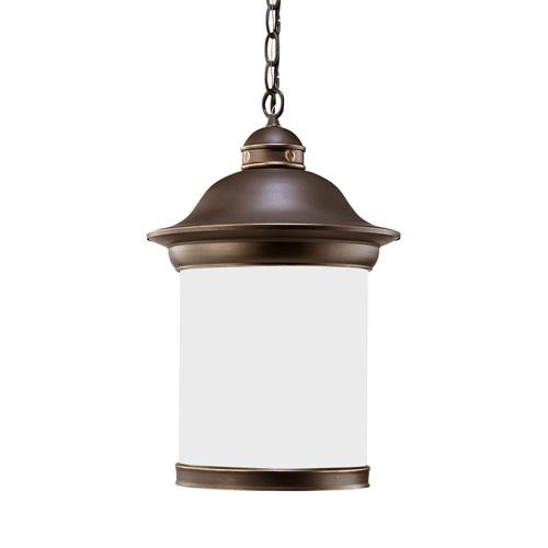Sea Gull Lighting Hermitage Antique Bronze Energy Star LED Outdoor Pendant