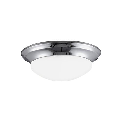 Nash Chrome 17-Inch LED Flush Mount