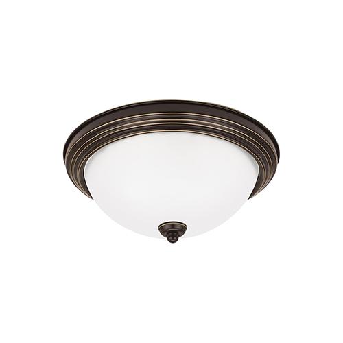 Sea Gull Lighting Heirloom Bronze 11-Inch LED Flush Mount
