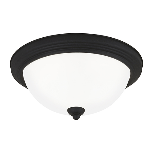 Sea Gull Lighting Blacksmith 13-Inch LED Flush Mount