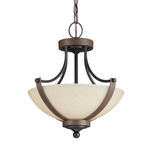 Corbeille Stardust Energy Star Two-Light LED Convertible Pendant