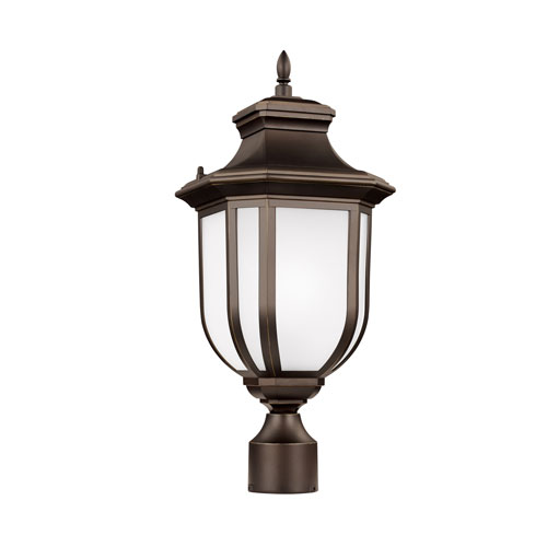 Childress Antique Bronze Energy Star LED Outdoor Post Lantern