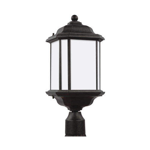 Kent Oxford Bronze Energy Star LED Outdoor Post Lantern