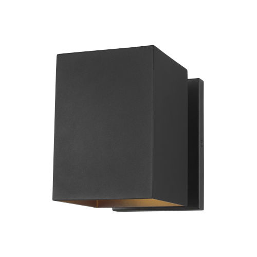 Pohl Black Seven-Inch One-Light Outdoor Wall Sconce