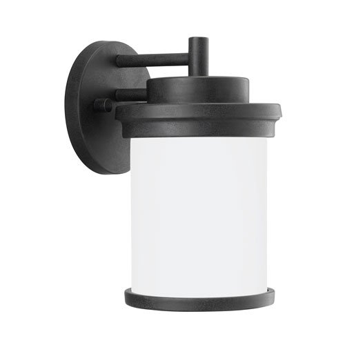 Winnetka Outdoor Forged Iron Energy Star 10-Inch LED Outdoor Wall Lantern