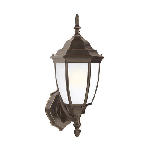 Sea Gull Lighting Bakersville Heirloom Bronze Energy Star 16-Inch LED Outdoor Wall Lantern