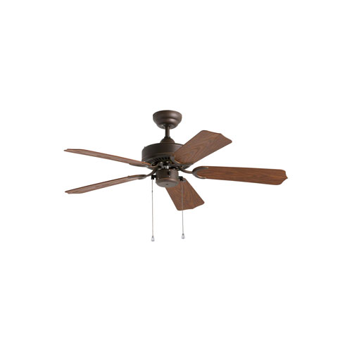 Panorama 42 Roman Bronze 42-Inch Outdoor Ceiling Fan