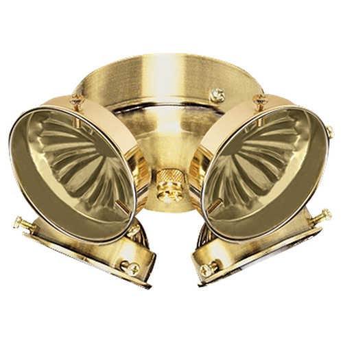 Sea Gull Lighting Polished Brass Four-Light Ceiling Fan Light Kit