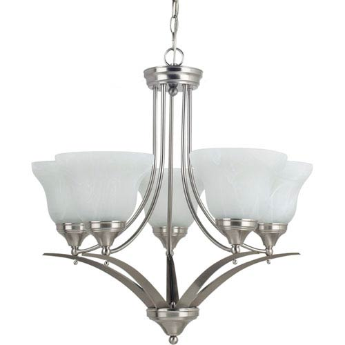 Sea Gull Lighting Brockton Brushed Nickel  Five-Light Chandelier