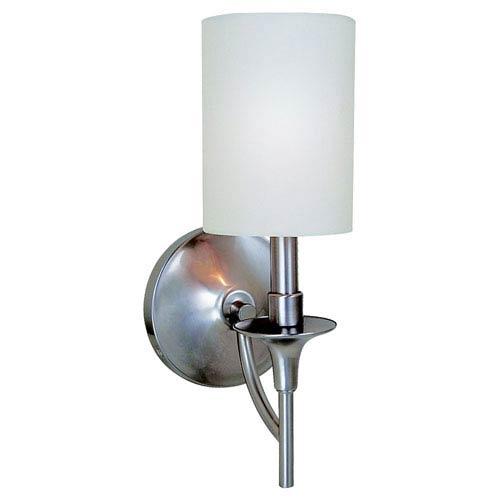 Stirling One-Light Brushed Nickel Bath Light