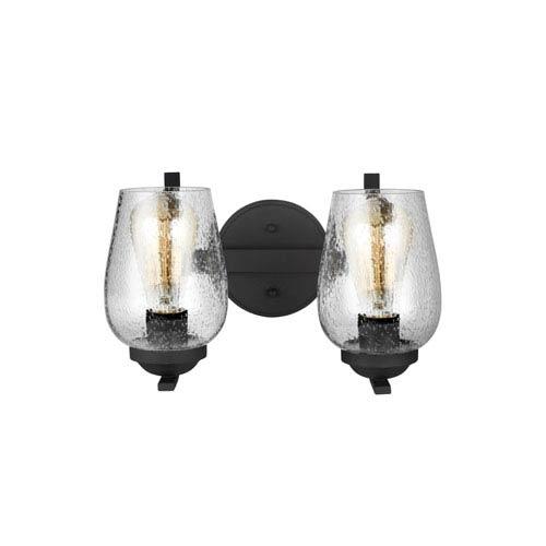 Morill Blacksmith 13-Inch Two-Light Bath Light