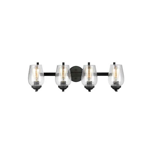Morill Blacksmith 28.5-Inch Four-Light Bath Light
