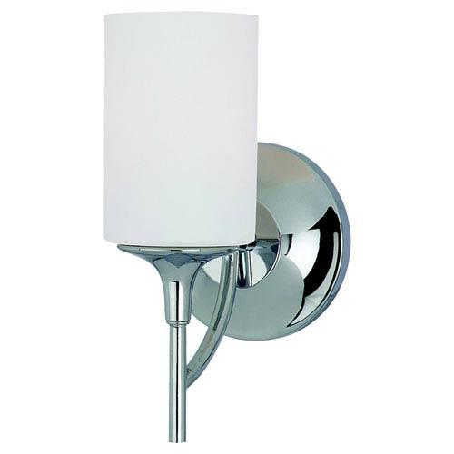 Sea Gull Lighting Stirling One-Light Chrome Bath Light
