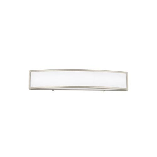 Colusa Brushed Nickel 25-Inch LED Bath Light
