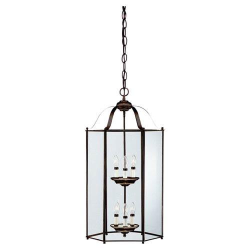 Bretton Large Heirloom Bronze Lantern Pendant