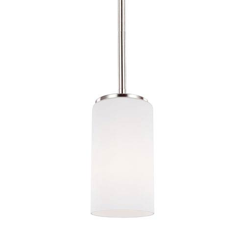 Alturas Brushed Nickel One-Light Mini Pendant