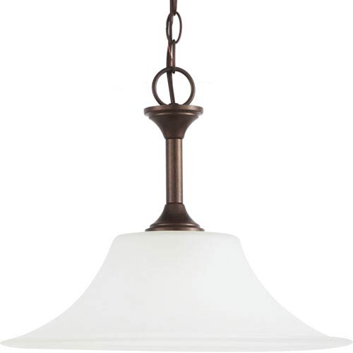 Sea Gull Lighting Holman Bell Metal Bronze  One-Light Pendant