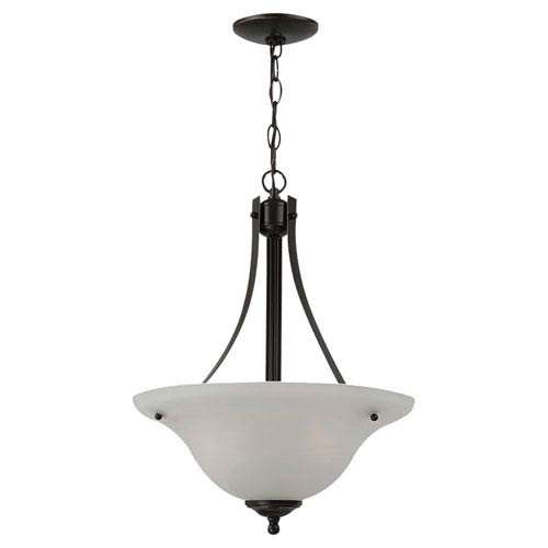 Sea Gull Lighting Windgate Two-Light Heirloom Bronze Pendant