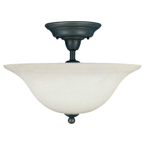 Sea Gull Lighting Sussex Semi-Flush Ceiling Light