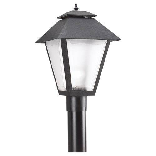 Black Outdoor Post Lantern