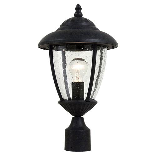 Sea Gull Lighting Lambert Hill Oxford Bronze Outdoor Post Lantern