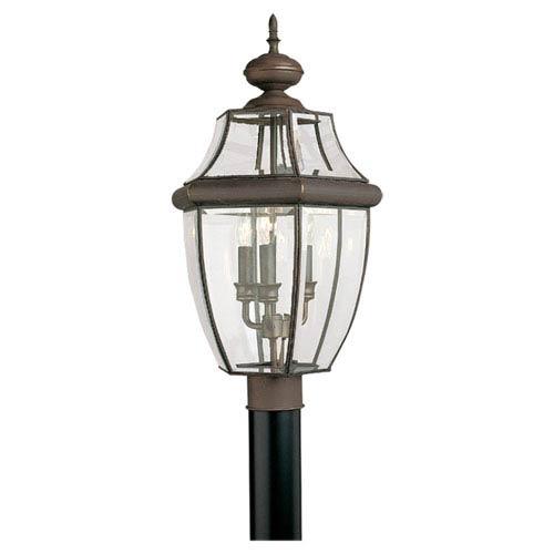 Antique Bronze Outdoor Post Lantern