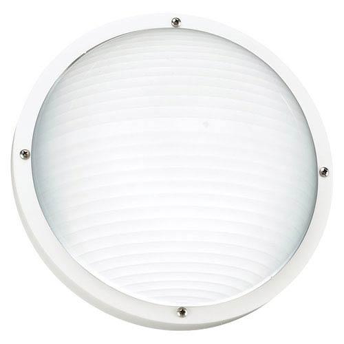 Sea Gull Lighting Bayside White Outdoor Wall Lantern