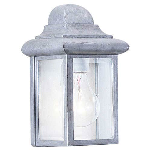 Mullberry Hill Pewter One-Light Outdoor Wall Lantern